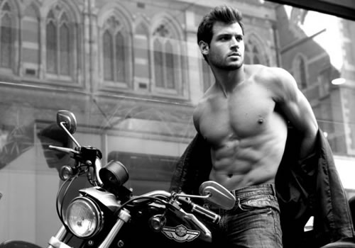 When Men Pose As Sexy Motorcycle Models You See How Silly